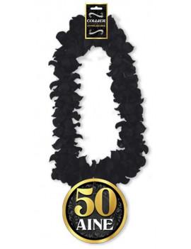 COLLIER DE FLEURS 50 ANS