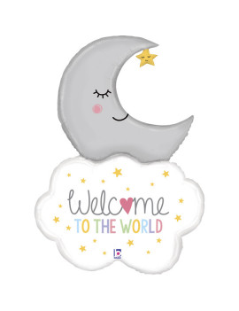 BALLON WELCOME TO THE WORLD...