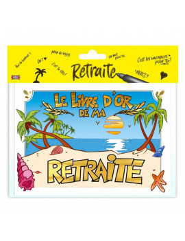 LIVRE D'OR RETRAITE