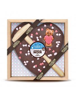 COEUR A CASSER - CHOCOLAT NOIR