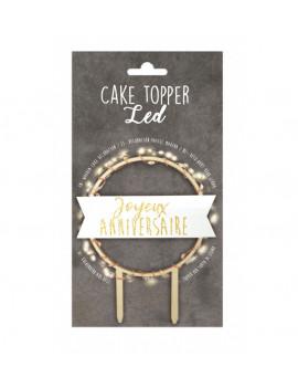 CAKE TOPPER JOYEUX...