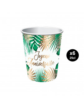 GOBELETS TROPICALE