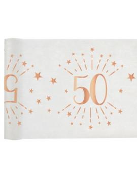 CHEMIN DE TABLE 50 ROSE GOLD