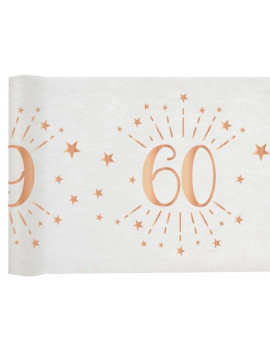 CHEMIN DE TABLE 60 ROSE GOLD