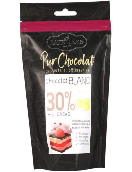 PALETS DE CHOCOLAT BLANC