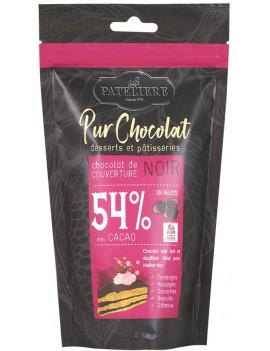 PALETS DE CHOCOLAT NOIR 54%
