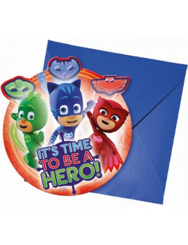 INVITATION PJMASKS