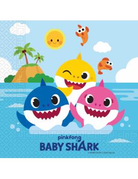 SERVIETTES BABY SHARK